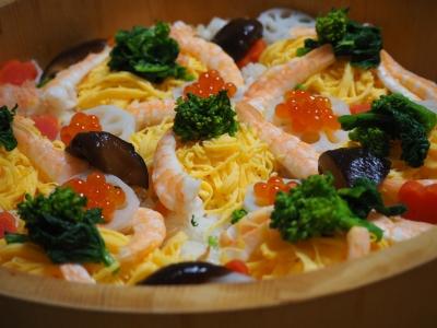 U_studiomimosaチラシ寿司