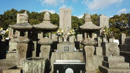 114_1003  西郷隆盛の墓(南州神社)