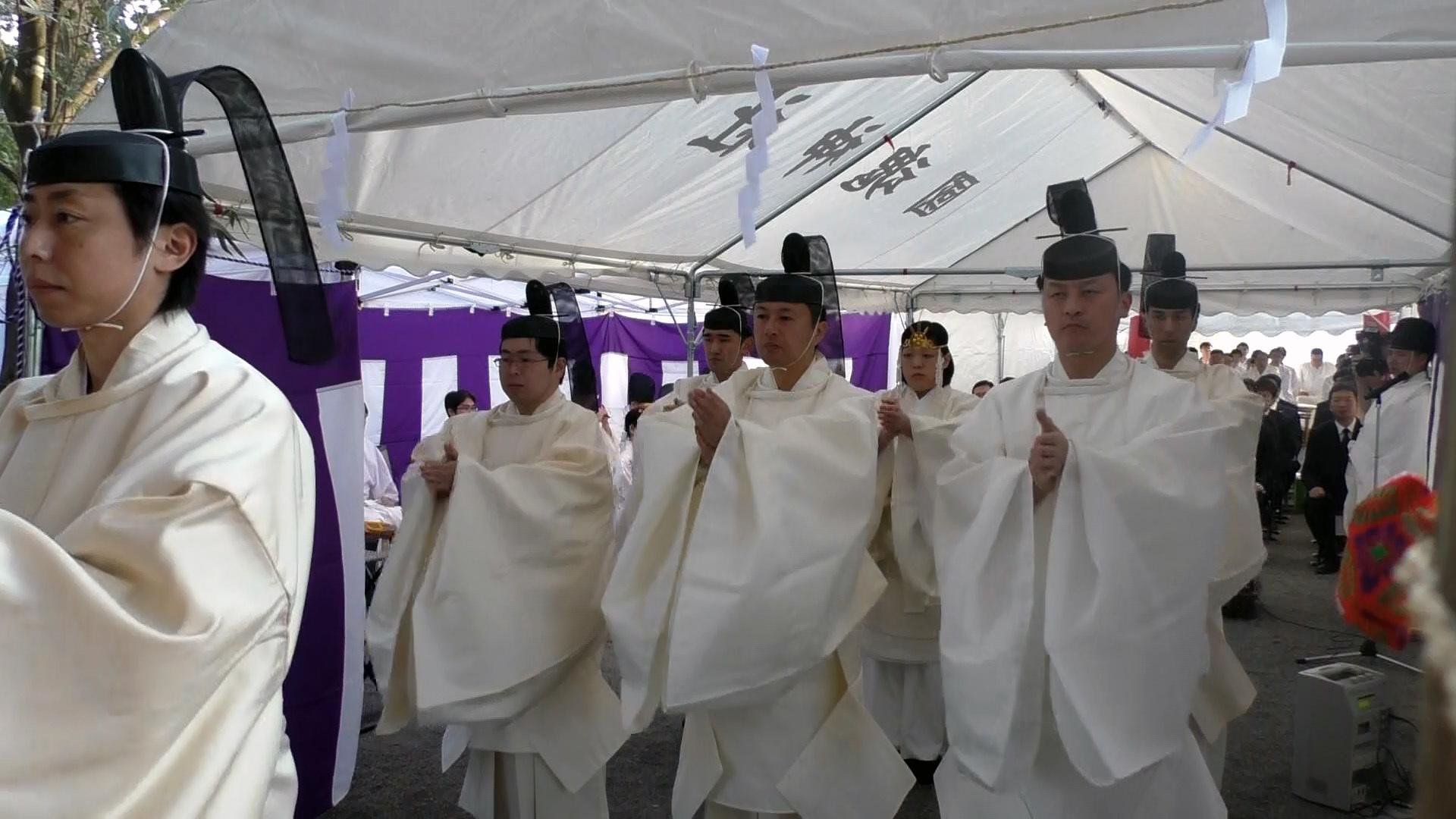 東日本大震災物故者慰霊祭