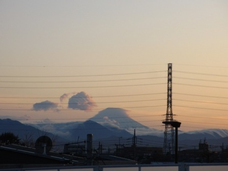 2017.4.7国分寺陸橋の富士