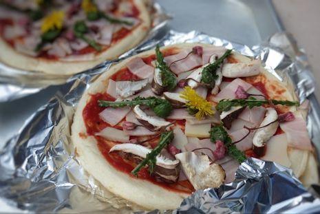 春菜のピザ