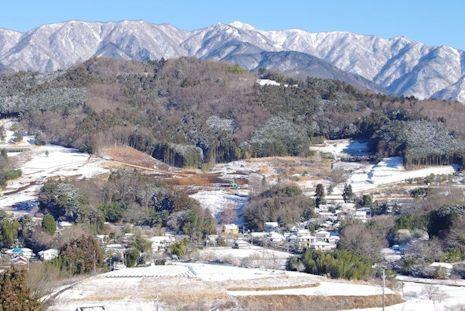 雪晴れの朝1702-1