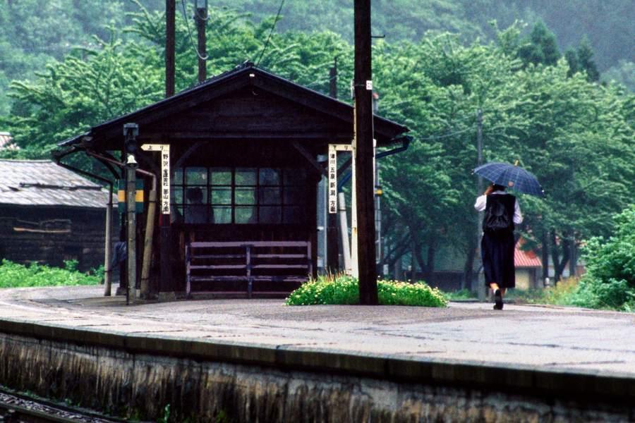 磐越西線 徳沢2 1988年6月4日 sRGB 16bit 原版 take1b