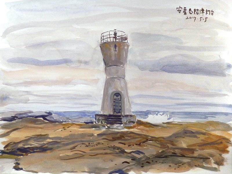 安房白間津灯台