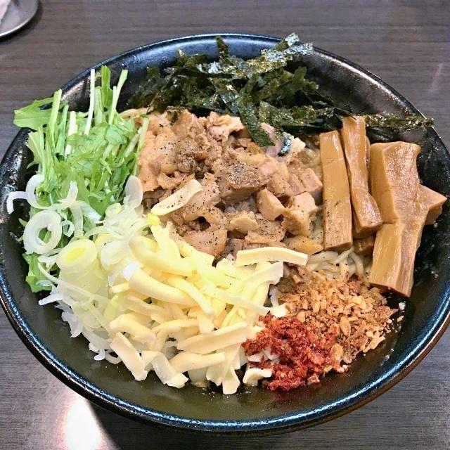ラーメンつけ麺 奔放 (6)