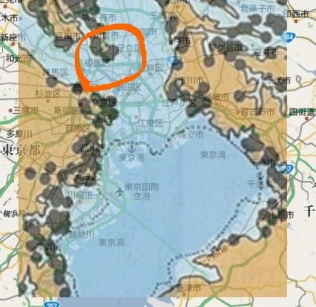 貝塚地図合成
