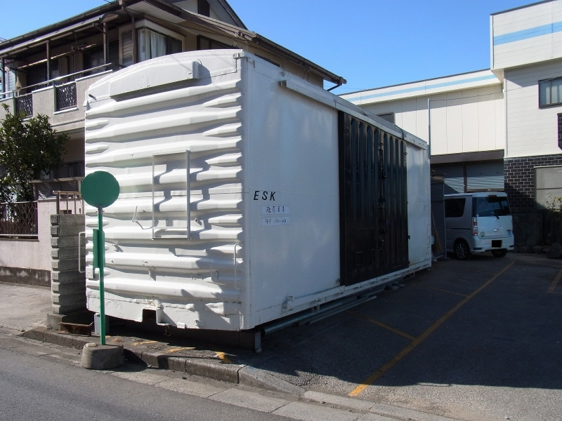 上尾市内ワム60000廃車体