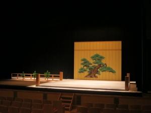 芸術ホール能舞台