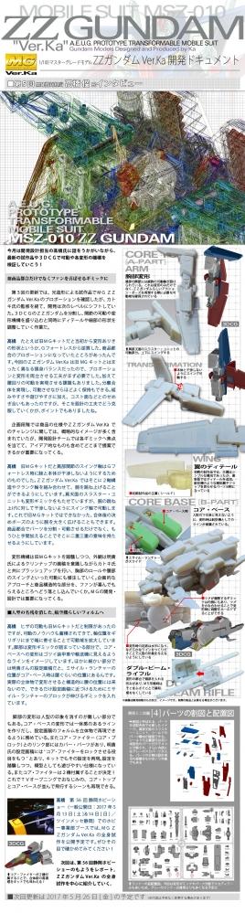 MG ダブルゼータガンダム Ver.Ka 試作品