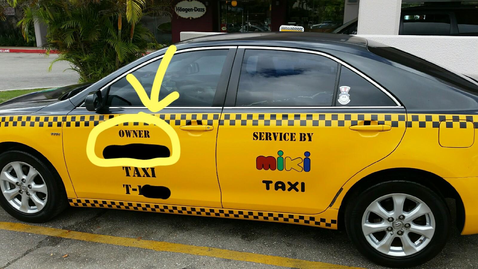 Guam Taxi Owner