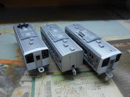 プラレール213系制作記