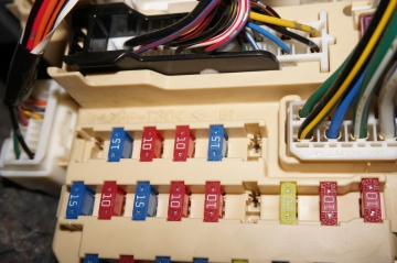 fuse-removed fuse box
