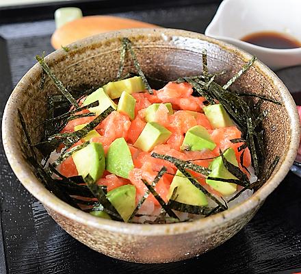 サーモン丼10