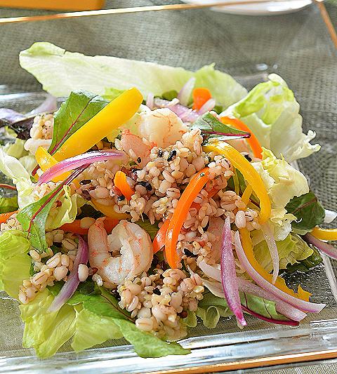 十穀米サラダ21