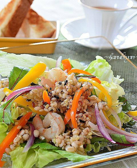 十穀米サラダ33