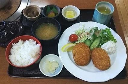 平成29年3月11日柚子コロッケ定食