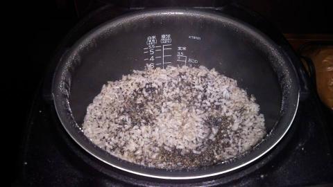 胡麻ご飯1