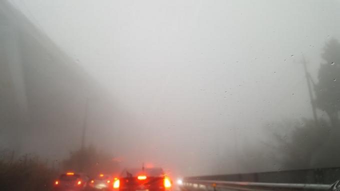 霧のR246