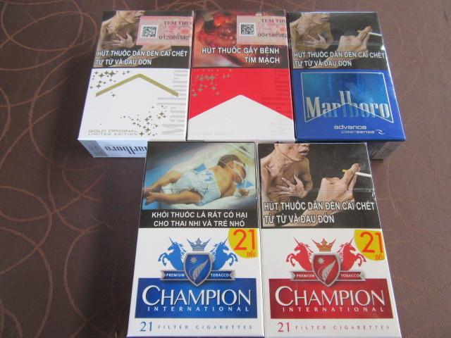 ベトナムで買ったタバコ