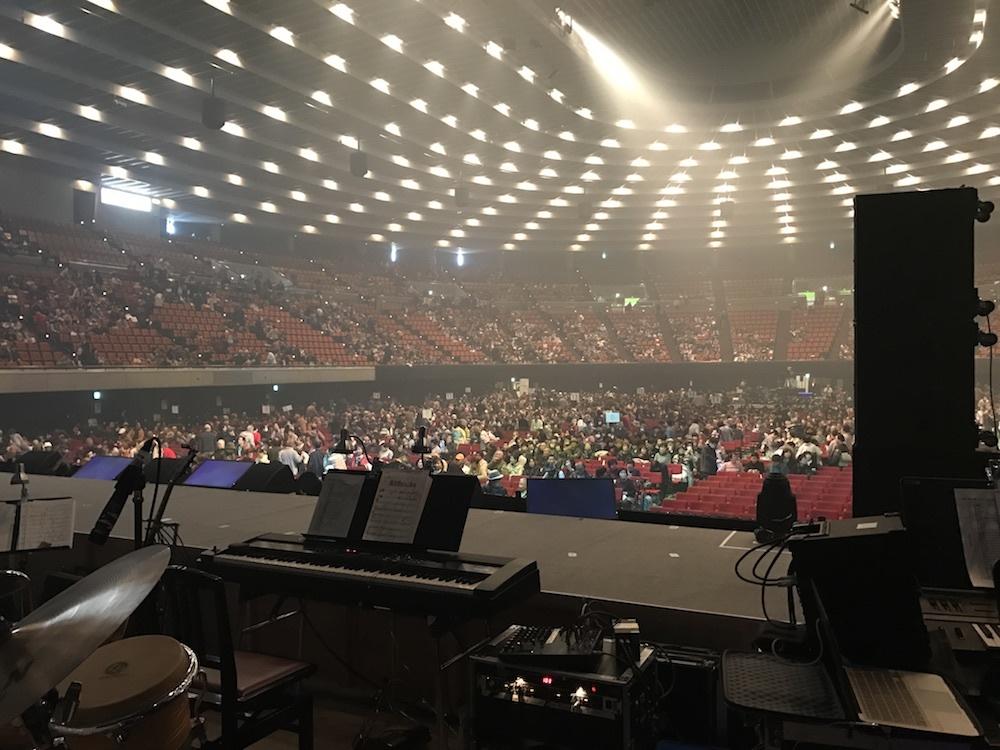 大阪公演客入れ