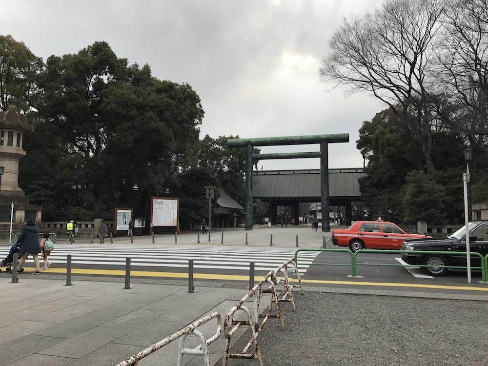靖国神社20170313