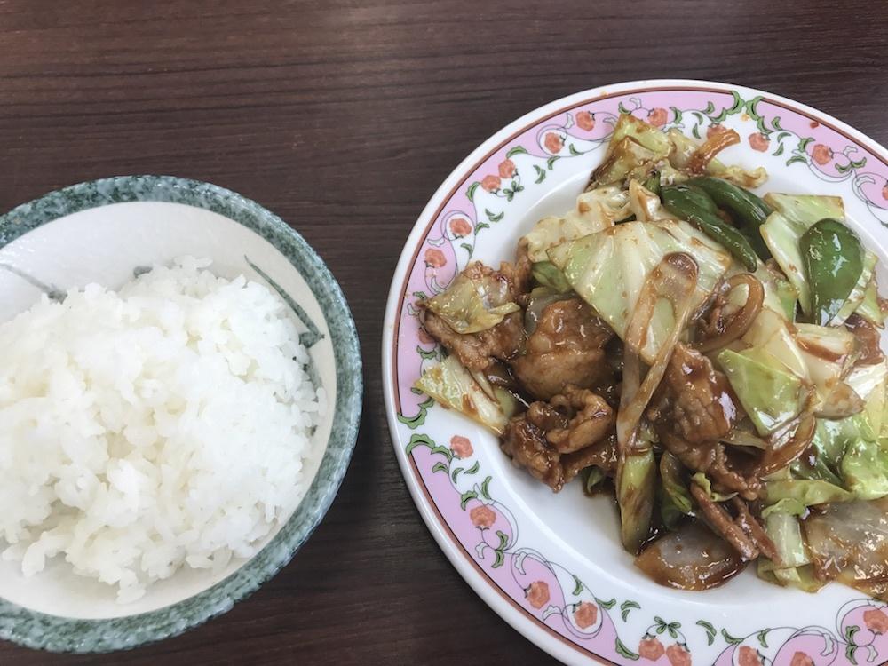 味噌肉炒め