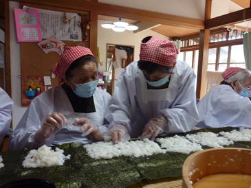 長巻き寿司8