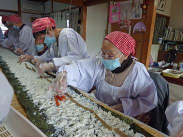 長巻き寿司91