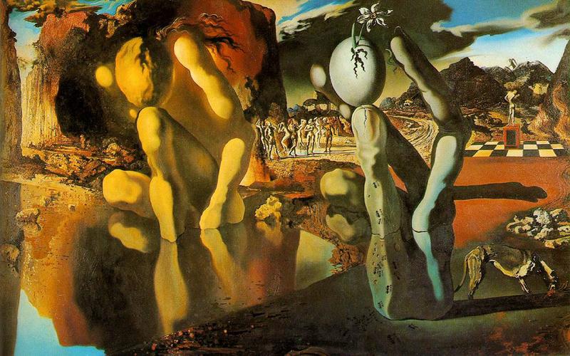 「ナルシスの変貌」(1937年)800