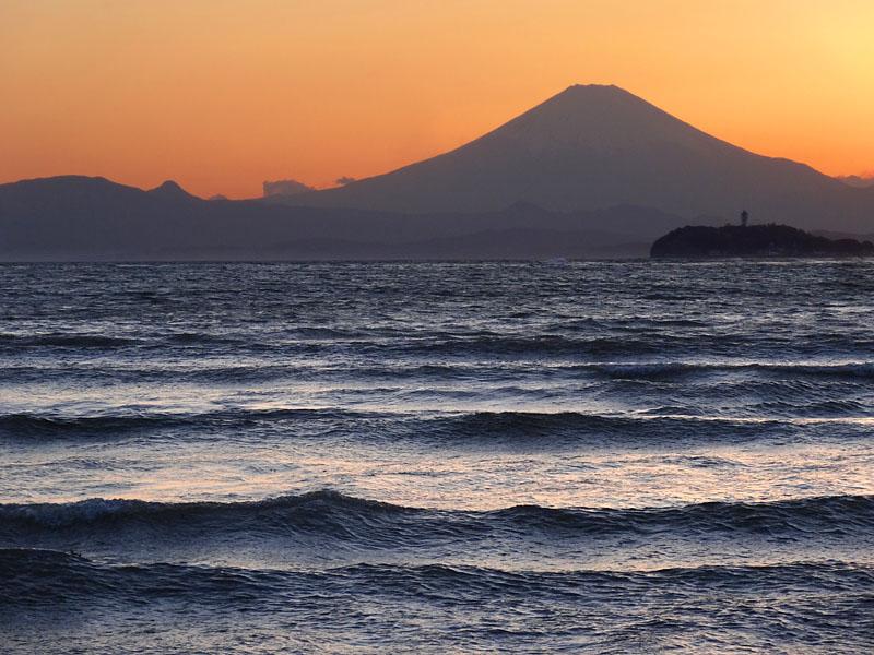 170419逗子海岸夕景3