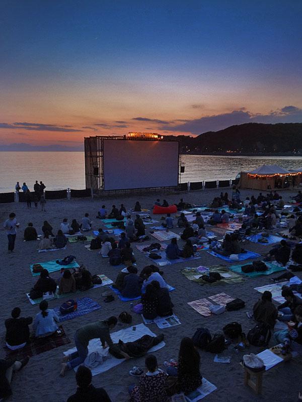 170428逗子海岸映画祭3