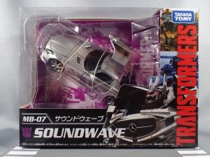 トランスフォーマー MB-07 サウンドウェーブ (2)