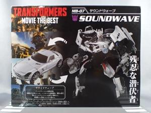 トランスフォーマー MB-07 サウンドウェーブ (3)