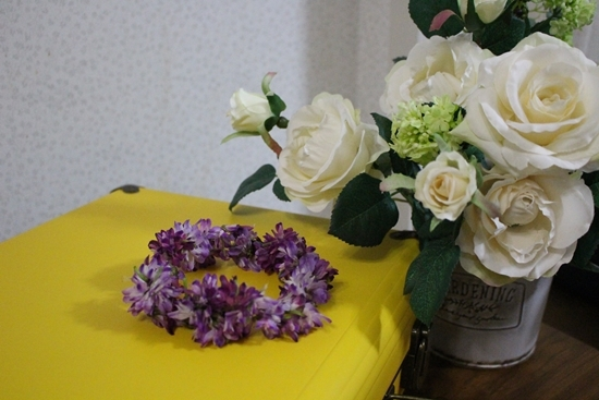 れんげの花冠