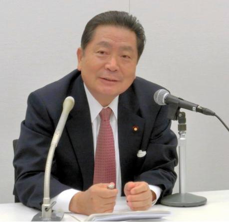 中川秀直氏 2017年4月