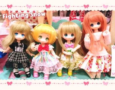 【イベント・レポ】ワンフェス2017冬/HoneySnow/Fighting Snow