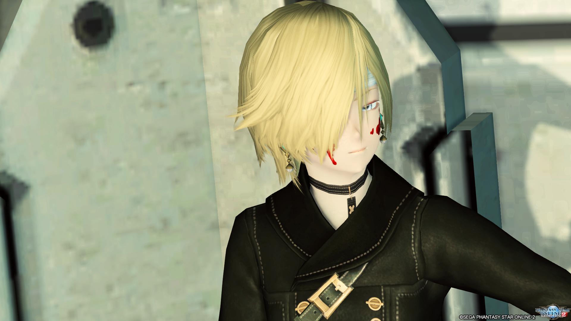 目隠しショートヘア 3