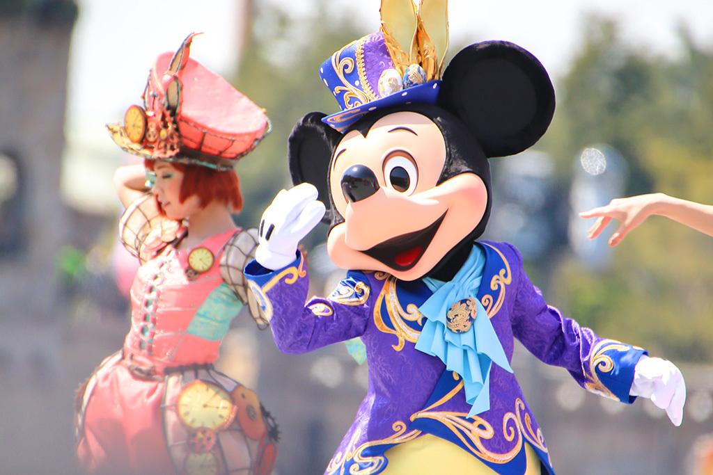 ミッキーマウス/ファッショナブルイースター1