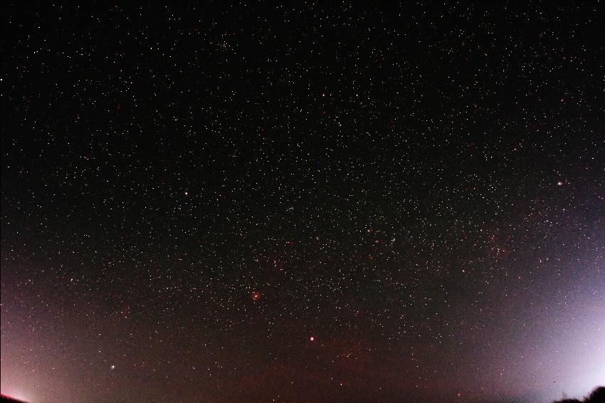 20170304沈み行く冬の星座たち