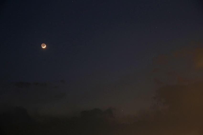 20170330月と水星