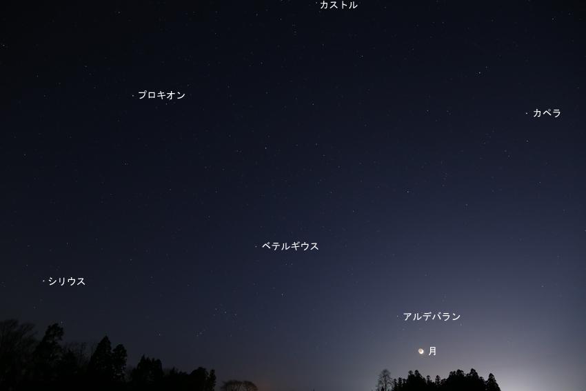 20170428西の星空