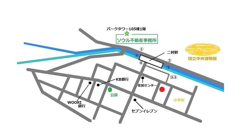 韓国 プルコギ ソギネ 地図
