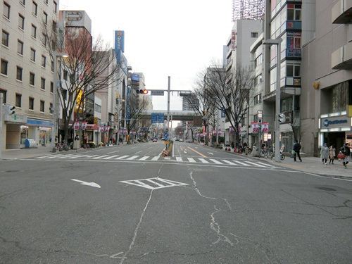 12日、朝の名古屋でちょこっとお散歩を。