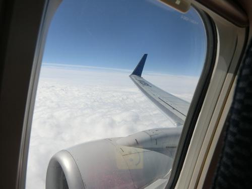 雲の上は晴れてるのよね。