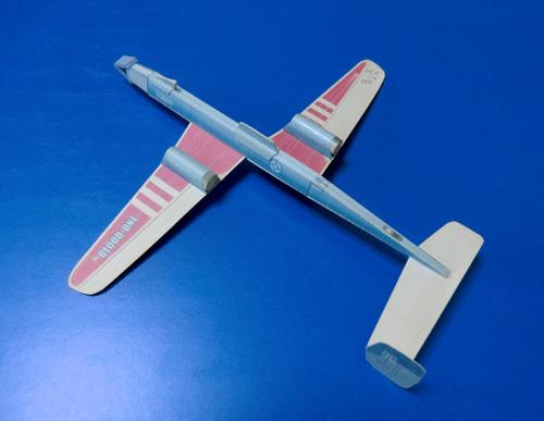 昔のですが・・・、非対称立体胴機です。 その2!