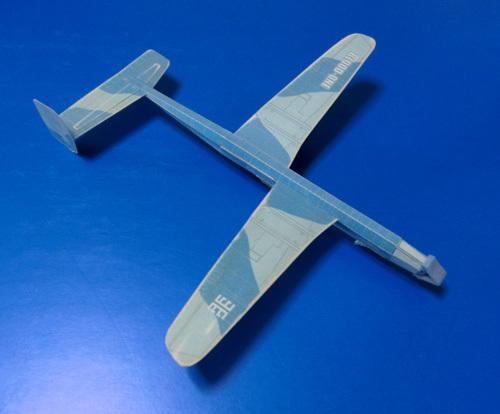 昔のですが・・・、非対称立体胴機です。 その1!