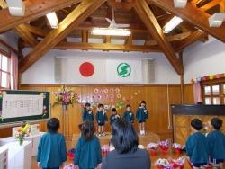 2017 西紀北幼稚園入園式