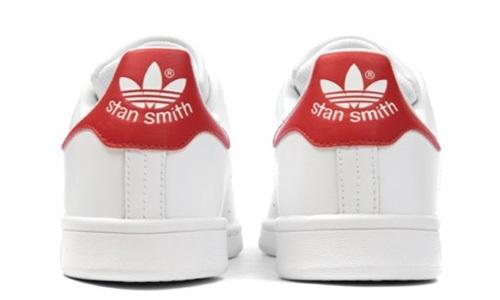 adidas STAN SMITH J ホワイト 赤
