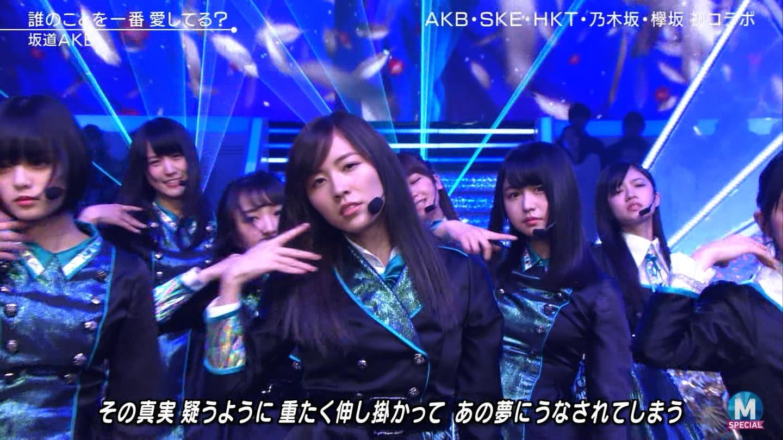 Mステ 坂道AKB3