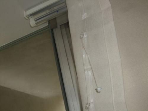 サイレントグリスのローマンシェード(シェードカーテン)スマートタイプ2205N